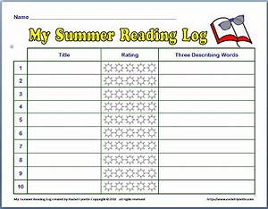 free summer reading log minds in bloom With summer reading log template
