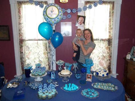 And Blue Birthday Decorations - centerpiece sticks boys birthday blue and