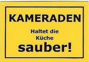 Wohnung Sauber Halten : kuche spruche sauberkeit ~ Frokenaadalensverden.com Haus und Dekorationen