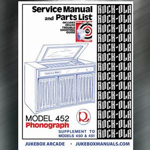 Rock Ola Model 452 Service Manual   Parts Catalog With