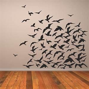 Wall Art Designs: Bird Wall Art Wall Art Birds Black