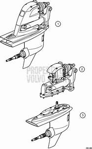 Volvo Penta Exploded View    Schematic Drive Unit  Complete