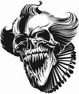 Evil Jester Nightmares Jesters sketch template