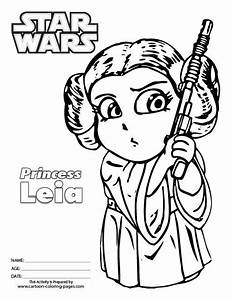 Image Result For Princess Leia Colouring Pages