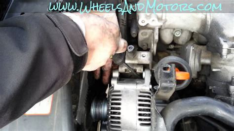 Alternator Wiring Diagram 2001 Audi A6 by How To Replace Alternator On Audi A6 C6 4f 2 0 Tdi