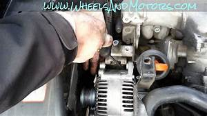 How To Replace Alternator On Audi A6  C6 4f 2 0 Tdi
