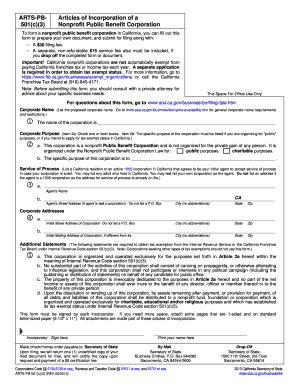 how to form your own california corporation pdf articles of incorporation template forms fillable