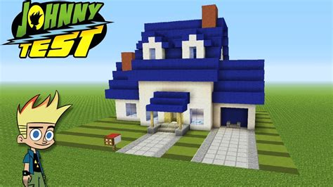 minecraft tutorial    johnny tests house johnny test youtube