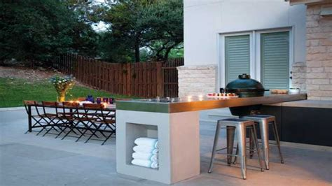 kitchen island mini bar modern outdoor bbq design ideas