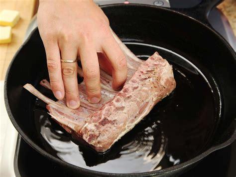 cook sous vide rack  lamb  food lab