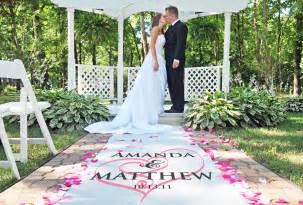 tapis mariage un tapis d 39 église imprimé demoiselles d 39 honneur ceremonie réussie mariage idées