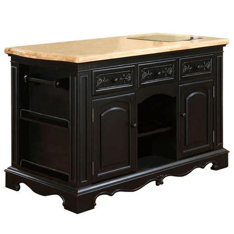 powell pennfield kitchen island pennfield kitchen island stool in distressed black base