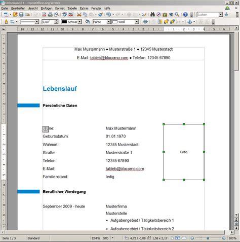 Vordruck Lebenslauf Bewerbung by Lebenslauf Vorlagen Muster Und Beispiele