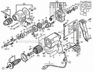 Bosch 1194vsr Parts List And Diagram