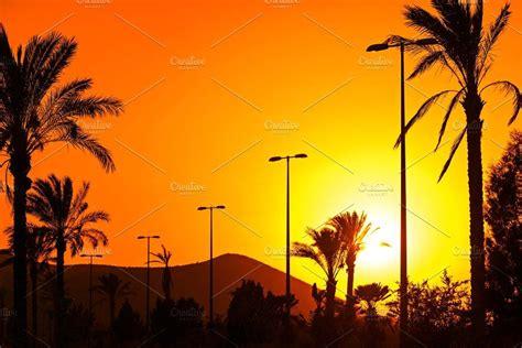 sunset orange andalusian creativemarket