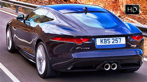 2016 Jaguar F-type Coupe And Convertible Awd Test Drive