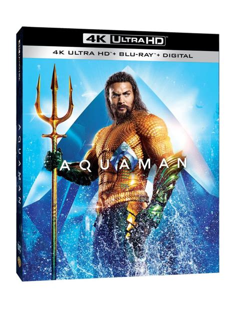 aquaman home video release  announced  blu ray
