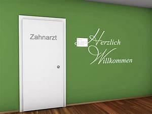 Farben Für Die Wand : wandtattoo beim zahnarzt ideen f r die praxis ~ Michelbontemps.com Haus und Dekorationen
