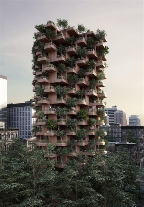 gallery  penda designs modular timber tower inspired  habitat   toronto