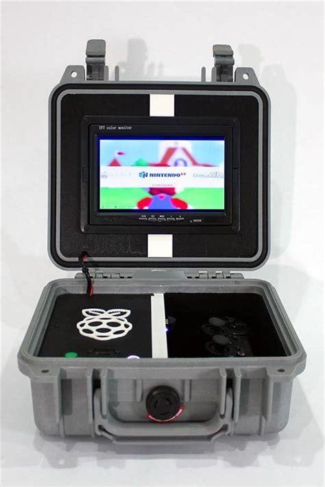 Emulation Console by Retro Pie Box Version 2 Portable Raspberry Pi Emulation