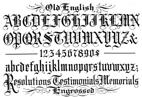 Old English Font Hd Wallpapers Download Free Old English