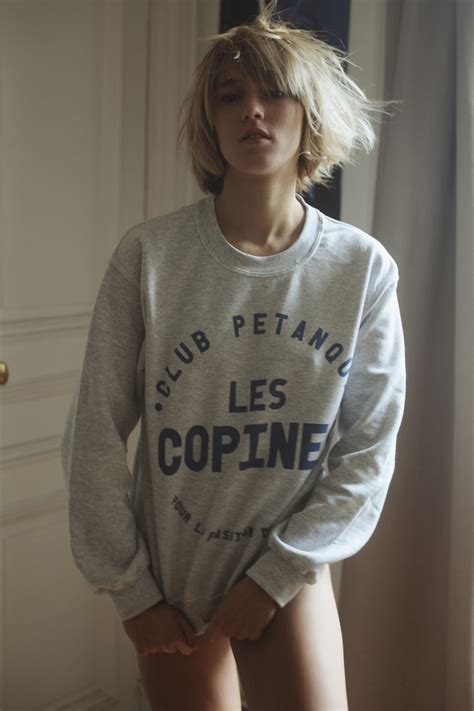 """French Love"""" A Day With Louise By Club Petanque Shot By Cecy Young C Heads Magazine"""