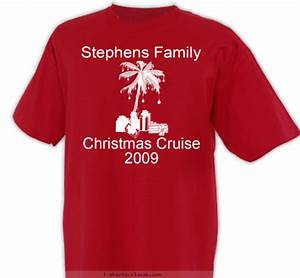 Custom T shirt Design Family Christmas Cruise