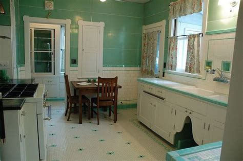 Depression era kitchen in near mint condition. Given a