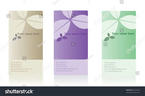 Elegant Vertical Business Card Stock Vector Illustration Medical Business Card Design Ideas Hvac Template Free Powerpoint Library Templates For Word 2010 Photography Cards Brixton Brisbane Northside