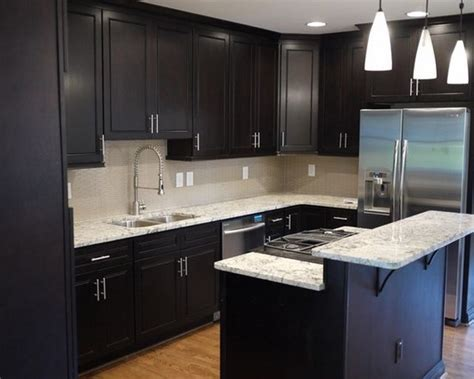 small kitchen black cabinets modern small kitchen design cabinets with 5413
