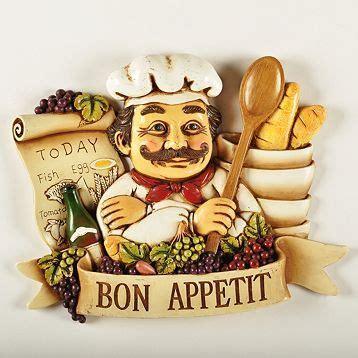 italian chef kitchen accessories bistro chef bon appetit wall plaque florida home 4862