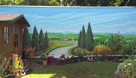 Wandmalerei  Nina Horstmeier