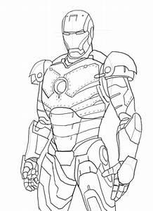 iron man mark 42 coloring pages