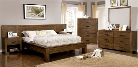 bairro reclaimed pine wood bedroom set  furniture  america coleman furniture