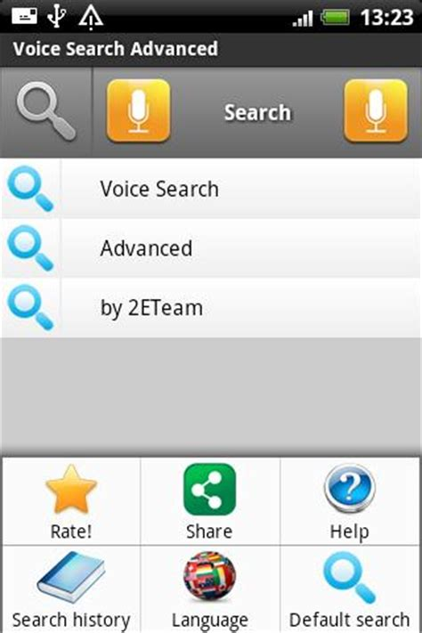 voice search android voice search android app