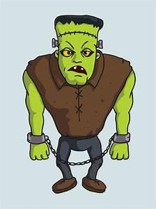 free Frankenstein Vector Character   Pixaroma   We extract ...