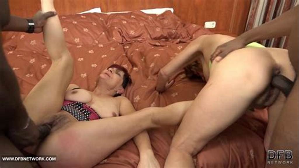 #Granny #Interracial #Group #Sex #Hardcore #Fuck #With #Anal #On