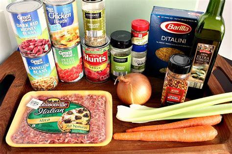olive garden ingredients pasta fagioli soup recipe copycat olive garden recipe