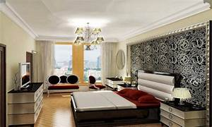Bedroom simple decoration, middle class home interiors