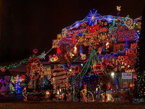 best christmas light displays 30 crazy christmas houses the house shop blog
