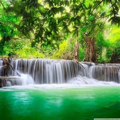 4k Waterfall Tropical Desktop Nature Wallpapers Ultra