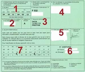 Carte Verte Assurance : qu 39 est ce que la carte verte acommeassure ~ Gottalentnigeria.com Avis de Voitures