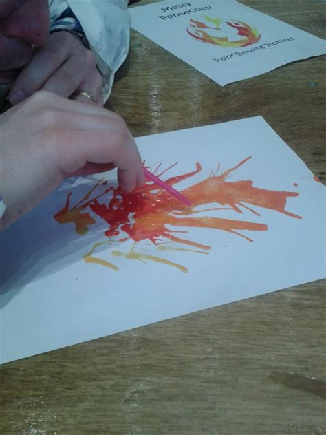 flame creative childrens ministry pentecost messy