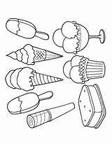 Ice Cream Coloring Pages Scoop Colouring Printable Sandwich Drawing Sundae Parlor Cone Adult Pop Easy Sheets Draw Cupcake Summer Getdrawings sketch template