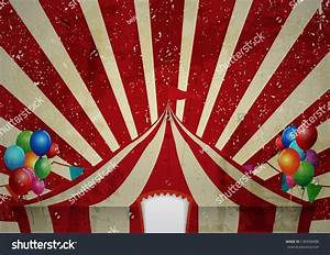 Vintage Circus Tent Poster Your Advertising Stock Vector ...
