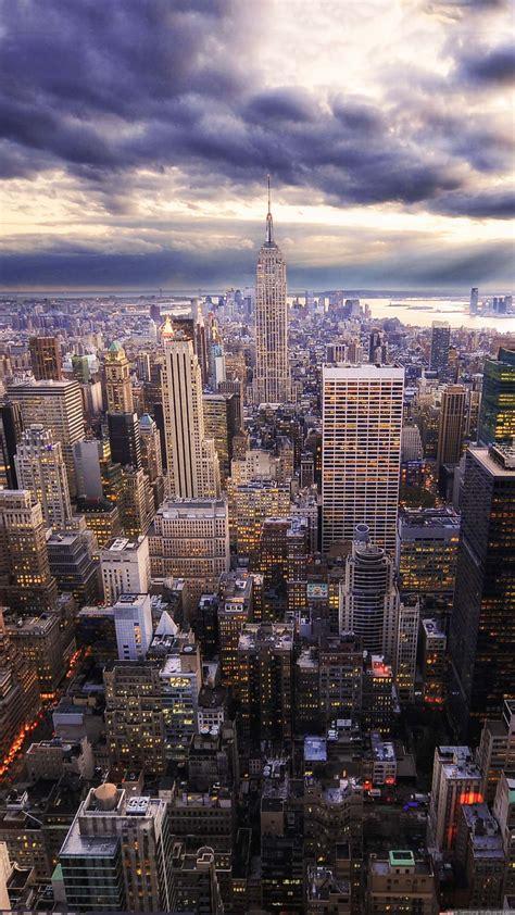 hdr  york skyline view iphone   hd wallpaper hd