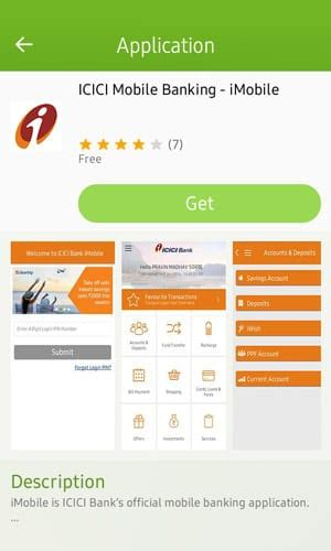 icici mobile banking app imobile is now available for samsung z1 and z3 tizen experts