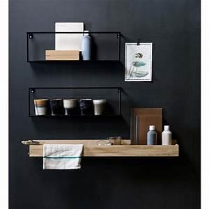 étagères Murales Ikea : tag re murale en m tal meert par ~ Teatrodelosmanantiales.com Idées de Décoration