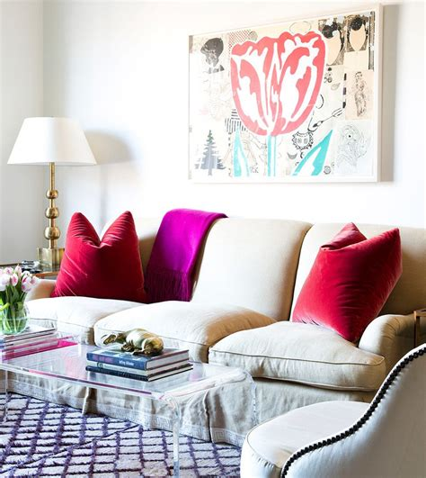 Raspberry Living Room Accessories by Lilly Bunn Purple Raspberry And Living