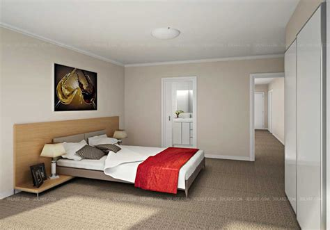 Bedroom 3d View Price  Taylorpark Interior Design Australia